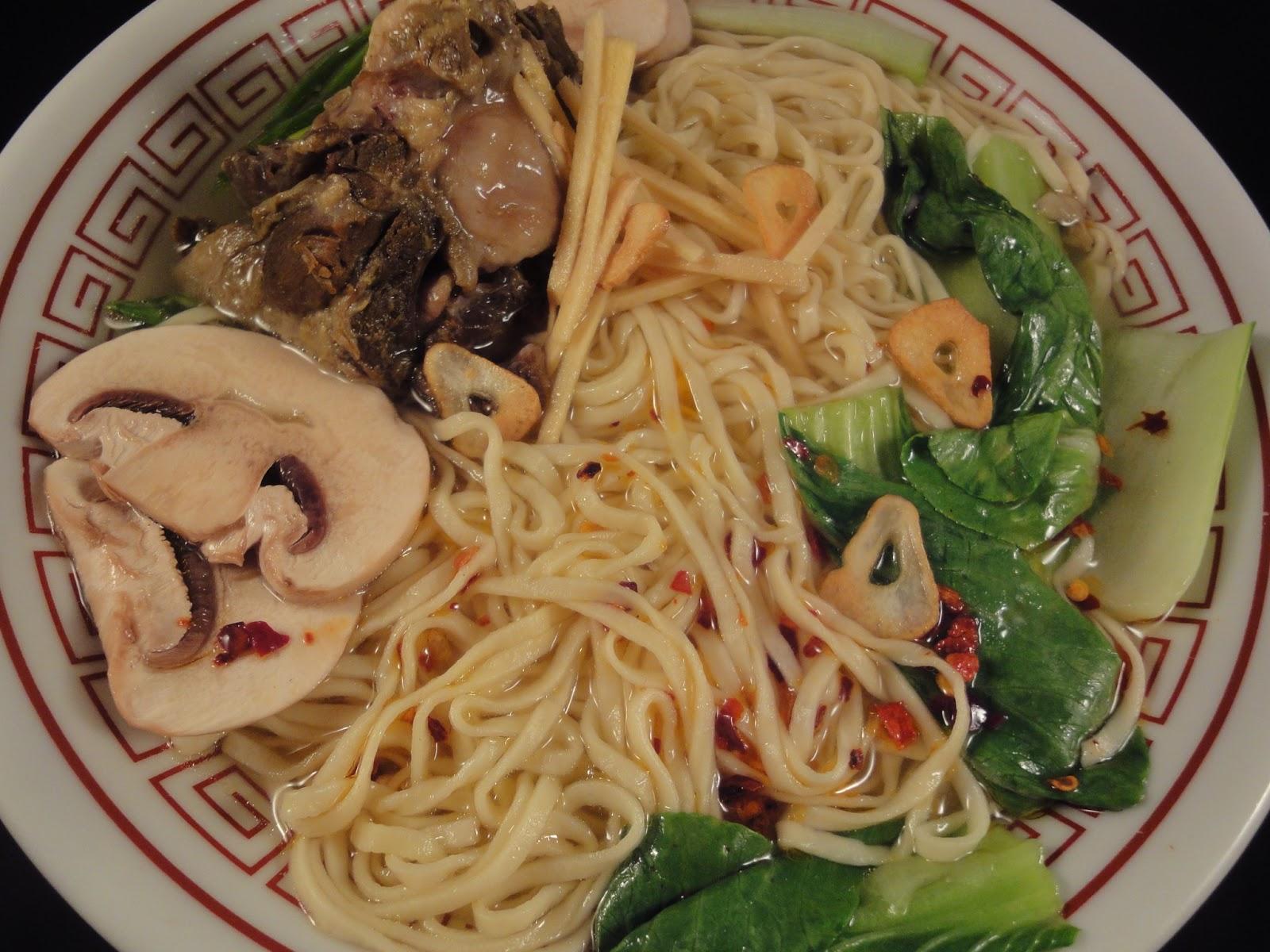 oxtail, oxtail ramen, oxtail noodles, oxtail noodle soup, Japanese ...
