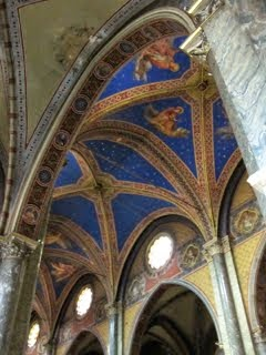 Santa Maria Sopra Minerva ceiling detail