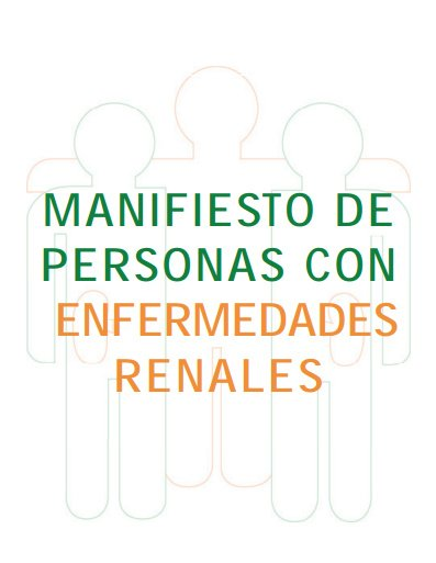 Manifiesto Enfermedad Renal