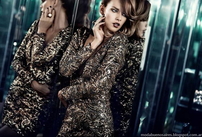 Silvina Ledesma vestidos de fiesta 2014, vestidos de noche, cocktail, recepción, egresadas, invierno 2014 Silvina Ledesma Moda 2014.