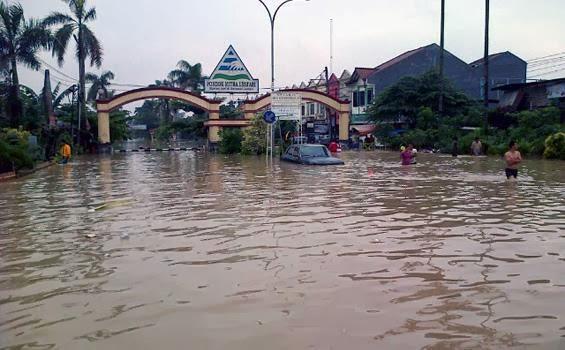 Ini 16 Titik Kawasan Bekasi Terendam Banjir