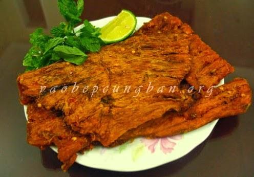 Cách làm thịt bò khô ngon tuyệt tại nhà 4