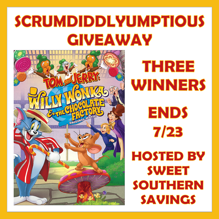 Scrumdiddlyumptious DVD Set Giveaway