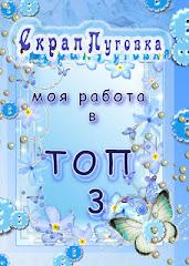 Топ-3 в СкрапПуговке