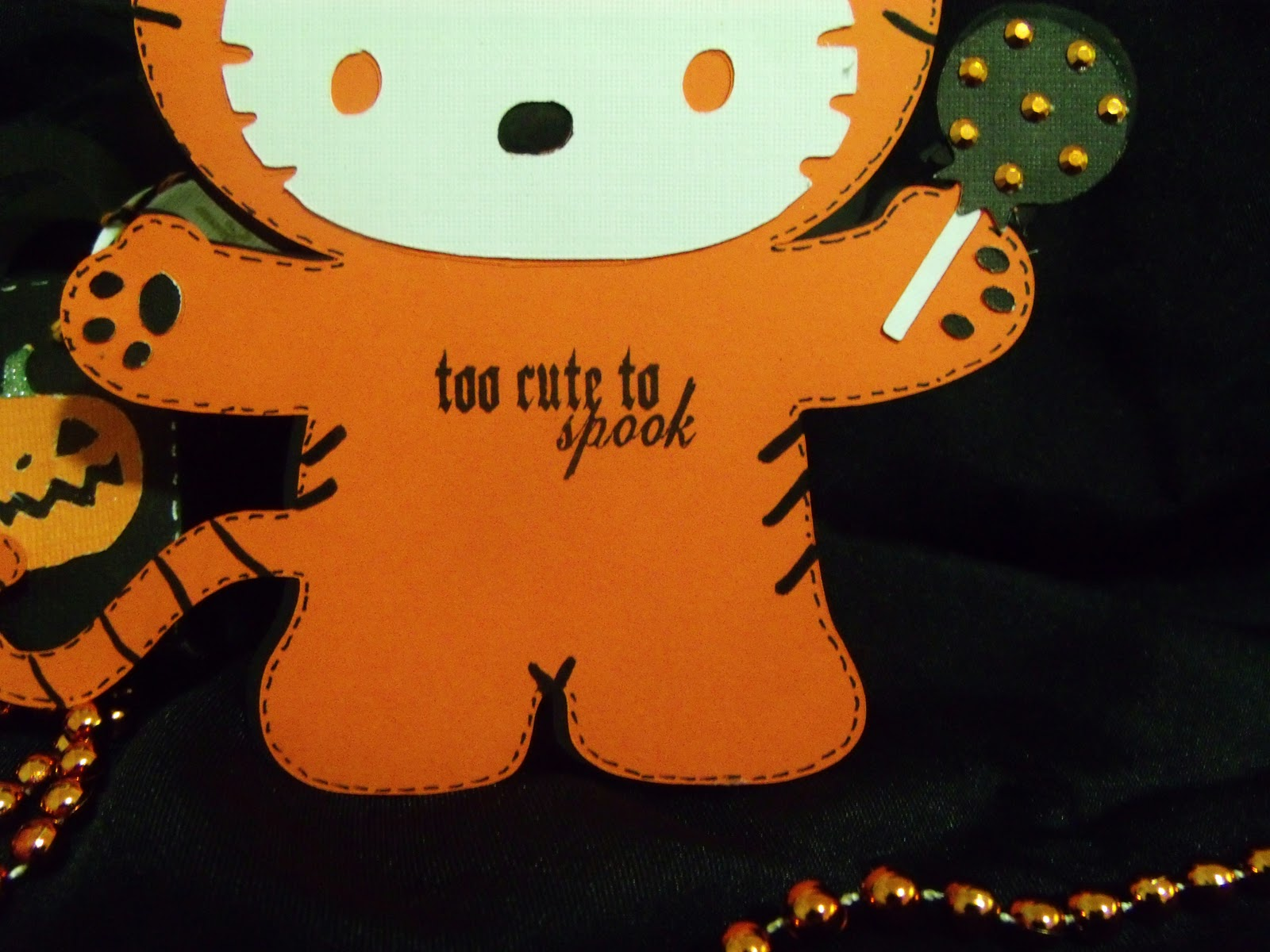 Diva of 5 halloween hello kitty card - Hello kitty halloween ...