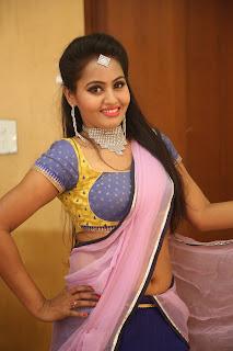 Actress Neetha Sizzling pics in half saree 027.JPG