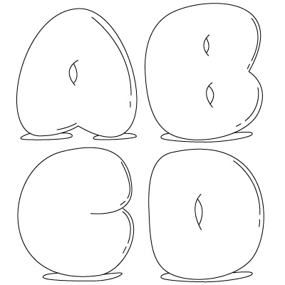 Grafity tawur bubble letters for Cool writing to draw
