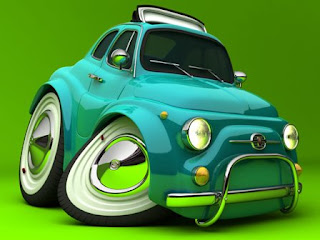 Funny 3D Cars Wallpapers
