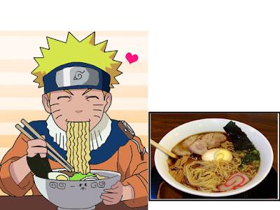 Naruto Uzumaki sangat senang makan ramen