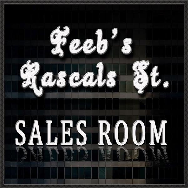 Feeb's Rascals St. Sales Room