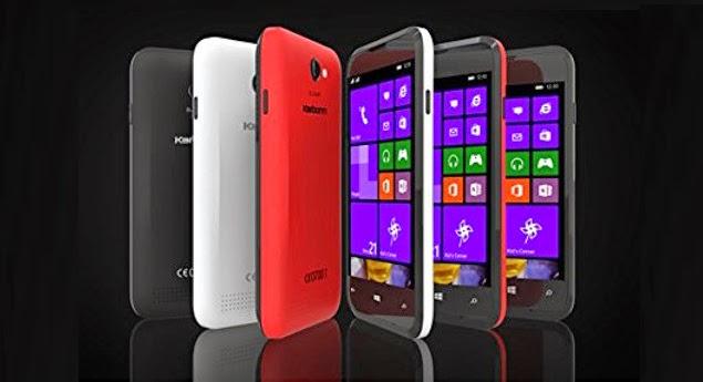 Karbonn Titanium wind W4 Windows phone