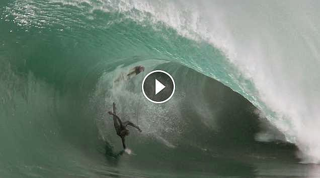 Scott Dennis in Remote Australia - 2015 Wipeout of the Year Entry - XXL Big Wave Awards