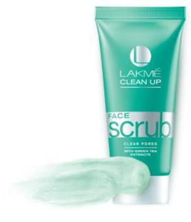 Lakme Clear Pores Clean Up Range Scrub