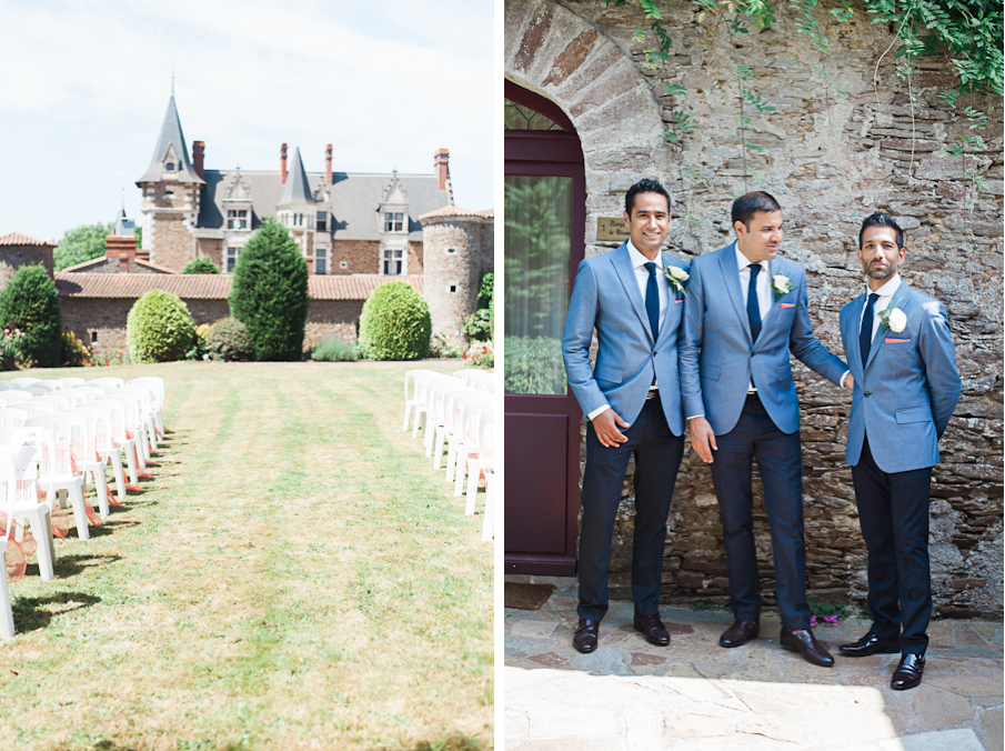 france french destination romantic fine art wedding chateau