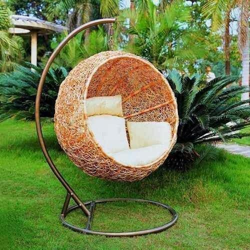 fauteuil de jardin en rotin