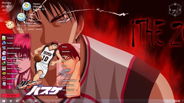 Kuroko no Basket: Taiga Kagami ( Windows 7 ) 1