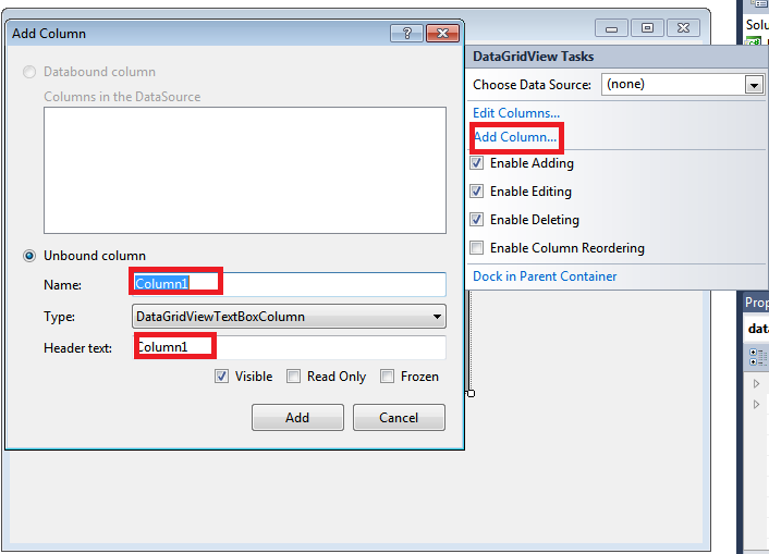 Auto Generate Row Number in GridView - net