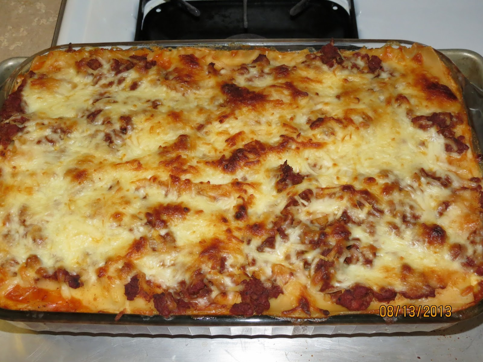 Heart For My Home: 3 Cheese Lasagna