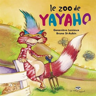 Yayaho le croqueur de mots de Geneviève Lemieux