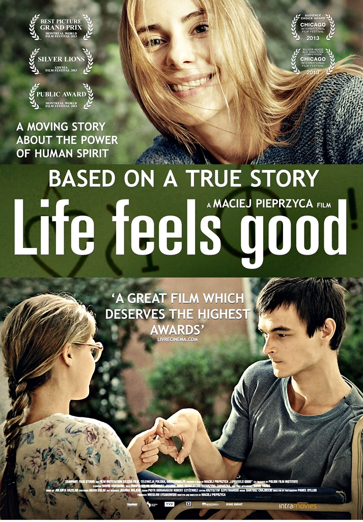 Póster: Life feels good