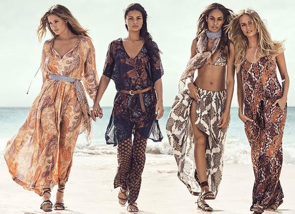 H&M campaña verano 2015 anuncio protagonizado por supermodelos