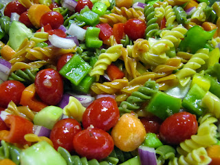 Natural and Free: Easy Pasta Salad (Egg, Nut, Milk and Fish-Free, Can ...