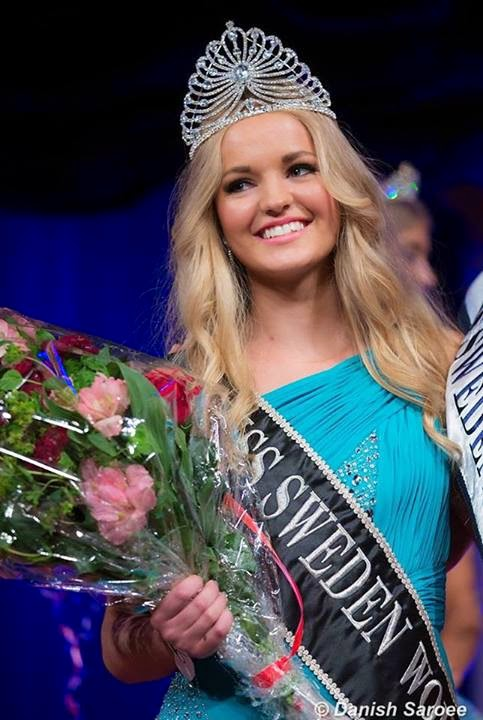 Miss Queen of Scandinavia World Sweden 2014 winner is Olivia Asplund