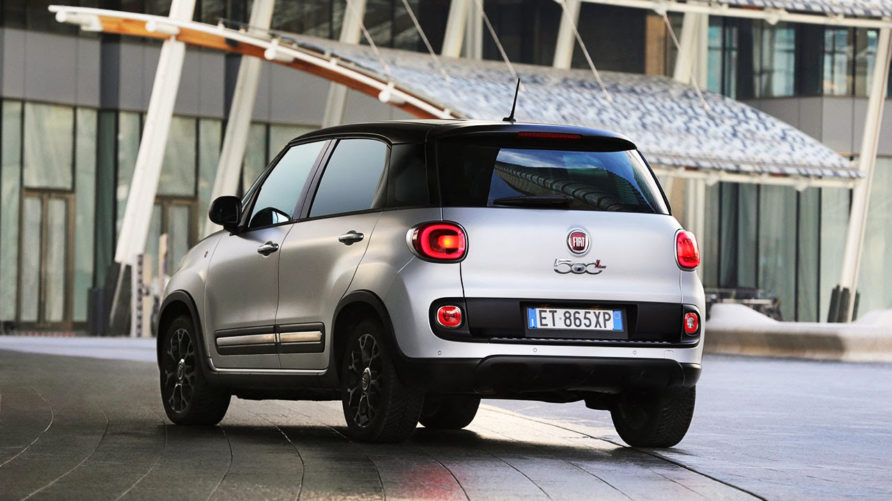 2014 Fiat 500L Beats Edition™ rear