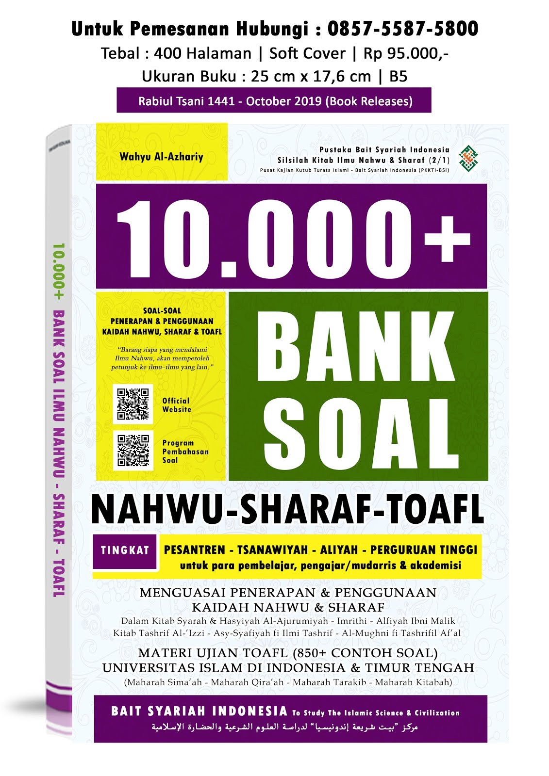 10.000 BANK SOAL NAHWU - SHARAF - TOAFL