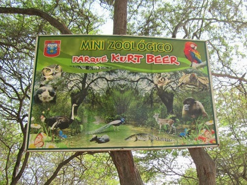 Mini Zoológico Parque Kurt Beer