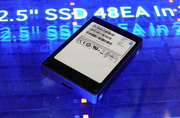 SSD Samsung de 16 TB foi batizada como PM1633a