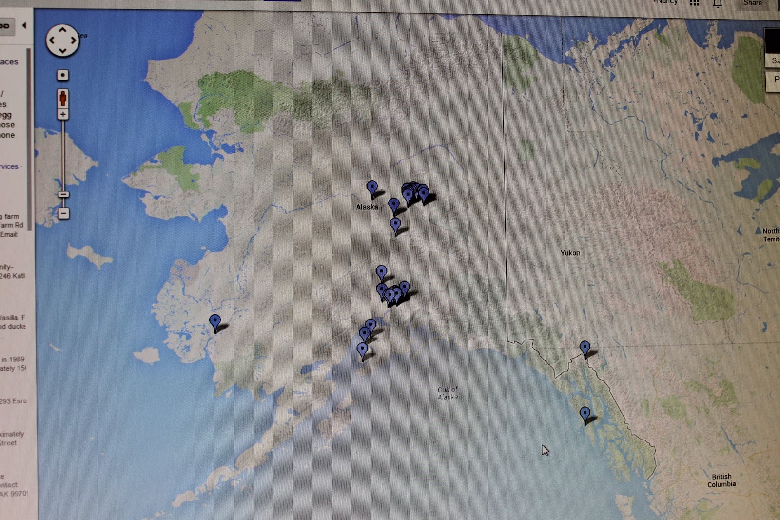 SNRE Science & News: Google Map of Alaska CSAs gets nearly 79,000 hits