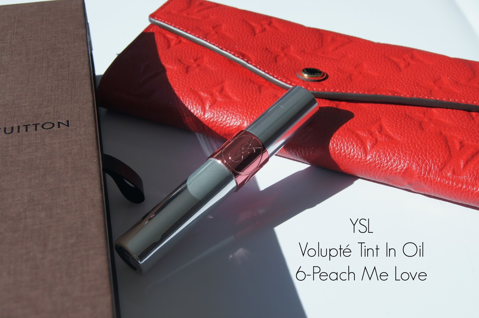YSL Volupté Tint In Oil-6 Peach me love