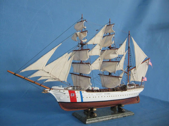 USCG Eagle Scaled Model Ship