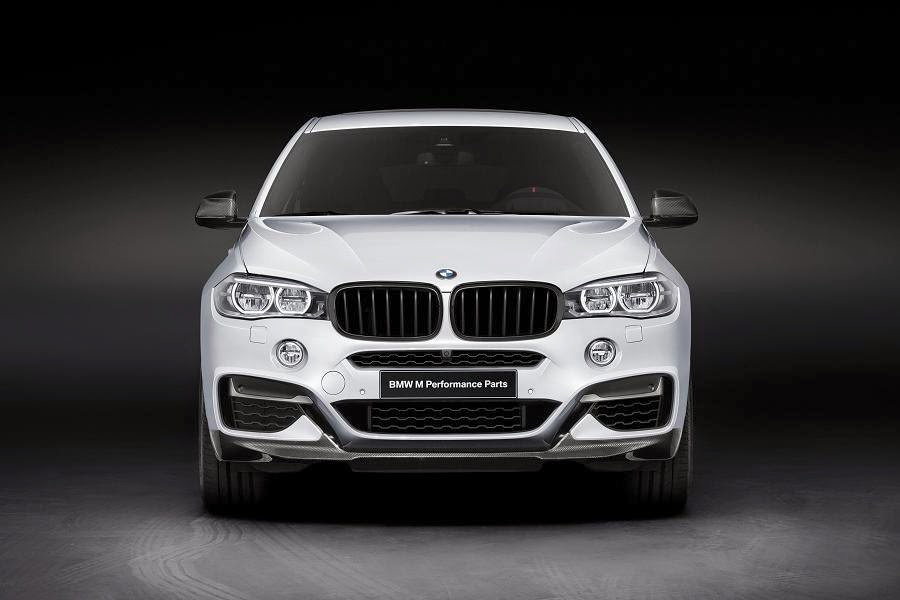 BMW X6 M50d With M Performance Parts (2015) Front