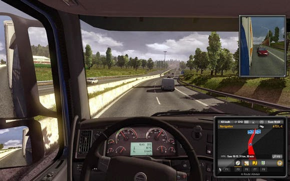 Download Game Euro Truck Simulator 2 PC Full Version Gratis