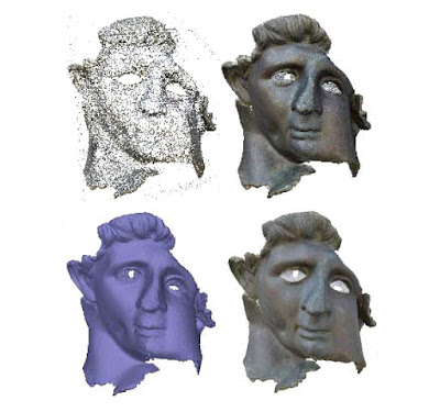 Ψηφιακή ανακατασκευή χάλκινου αγάλματος της ελληνιστικής περιόδου