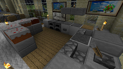 Minecraft furniture ideas homedesign livingrooms room ideas for Minecraft bedroom ideas xbox 360