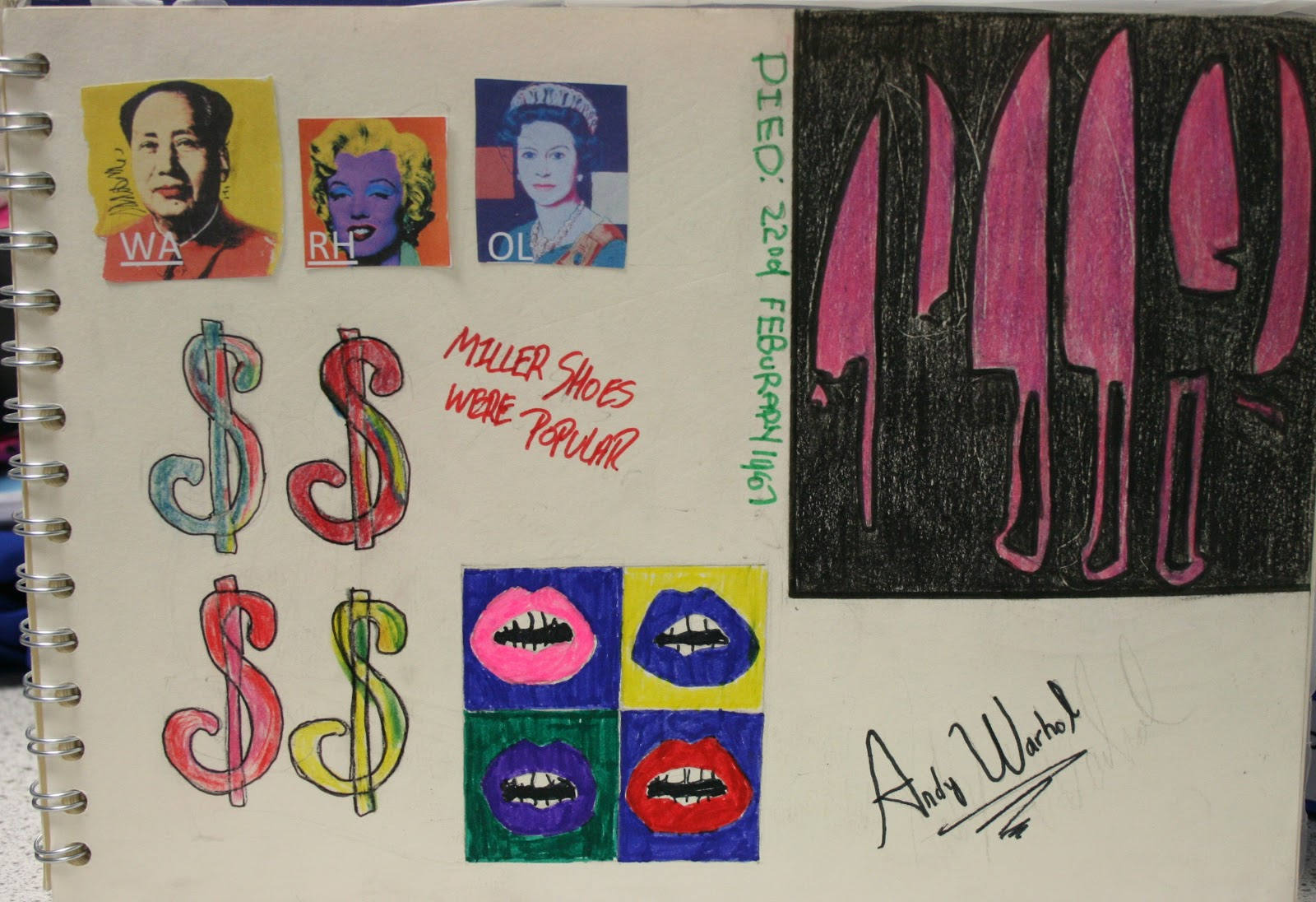 andy warhol biography essay