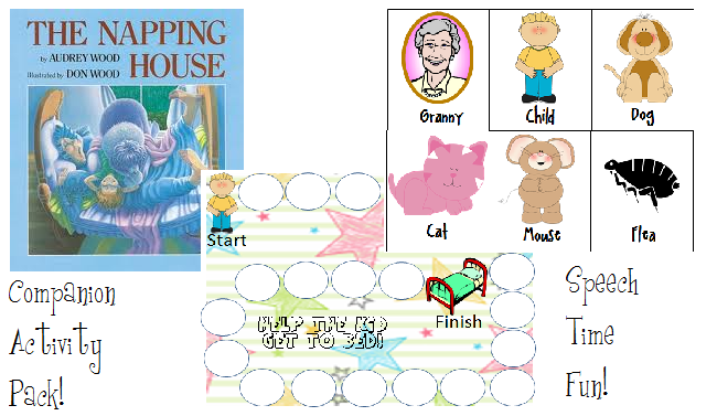 the napping house preschool activities the napping house companion activity pack 371