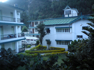 Gmvnl Hotel at Uttarkashi where I stayed