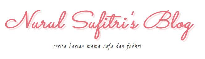 Nurul Sufitri's Blog