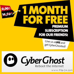 cyberghost vpn free 1 month license key cyberghost is an important ...