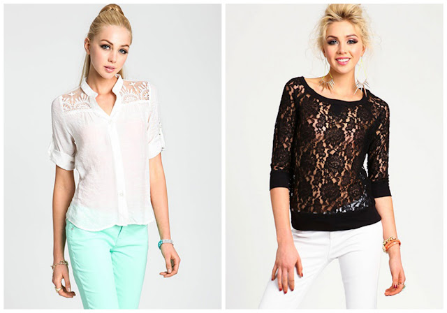 {The UNDONE Blog} Love Culture Lace Tops