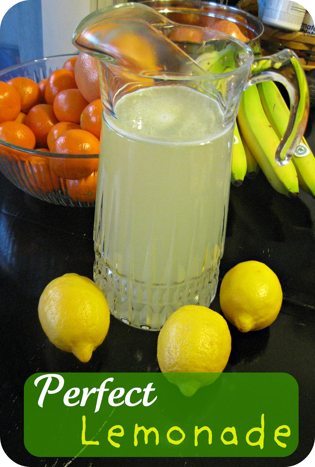 Freshly Completed: Perfect Lemonade