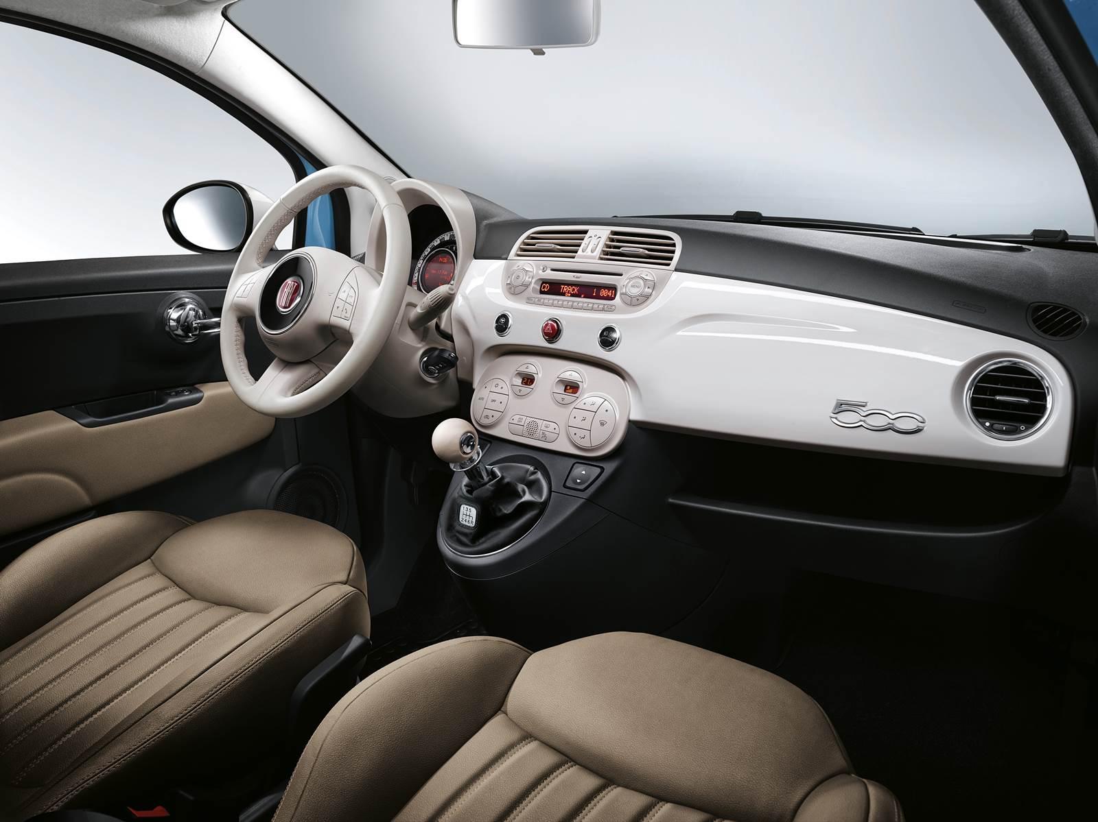 Fiat 500 Vintage '57 - interior