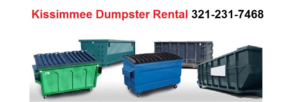 Kissimmee Dumpster Rental