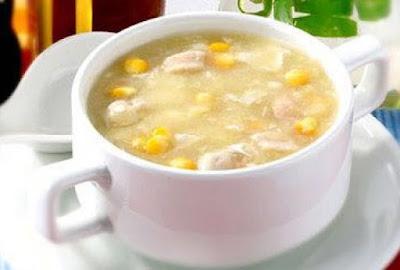 شوربة الذرة بالدجاج للرجيم, شوربة الذرة بالدجاج, الذرة بالدجاج, رجيم