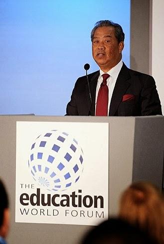 Ucapan Muhyiddin di Forum Pendidikan Dunia 2014