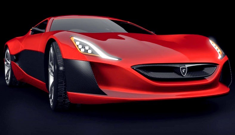 Rimac Concept One Black